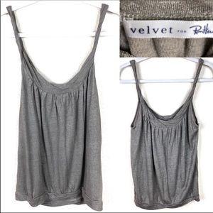 Velvet, sparkle tank top